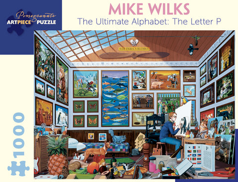 Wilks:  Ultimate Alphabet The Letter P