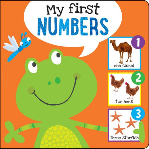My First Numbers: I'm Learning My Numbers! (board book)