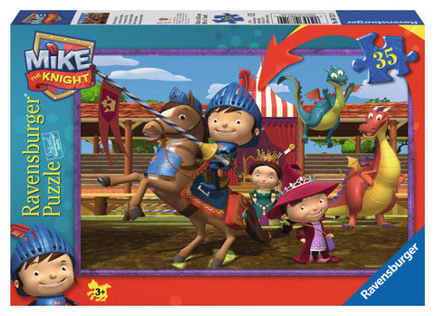 Ravensburger - Mike the Knight: Mike's Adventures Puzzle (35 pcs)
