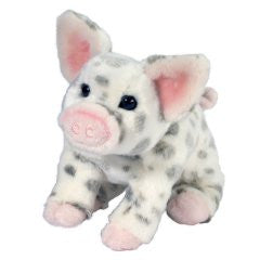 "Douglas 7"" Pauline Small Spotted Pig - Finnegan's Toys & Gifts"