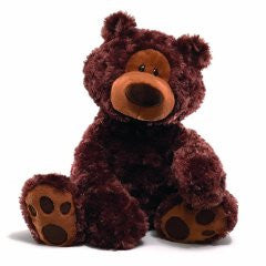 "Philbin Chocolate Bear 18"" - Gund - Finnegan's Toys & Gifts"