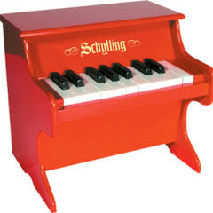 Red Piano - Finnegan's Toys & Gifts