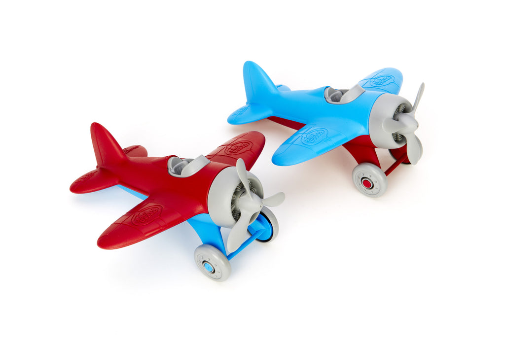 1 Toy Airplane Blue GREEN TOYS