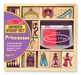 Wooden Stamp Set - Princesses - Finnegan's Toys & Gifts - 1