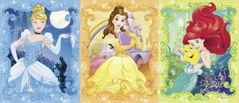 Beautiful Disney Princesses (200 pc Panorama Puzzle) - Finnegan's Toys & Gifts