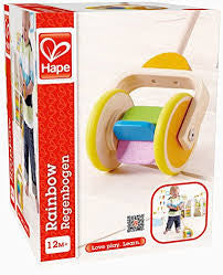 Hape Rainbow Push & Pull Toy - Finnegan's Toys & Gifts - 1