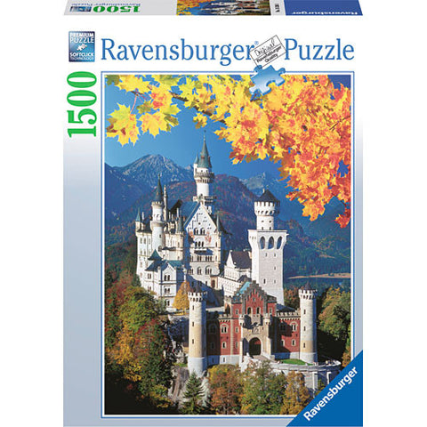 Neuschwanstein 1500 pc Puzzle - Finnegan's Toys & Gifts