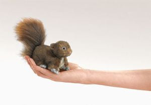 Mini Red Squirrel Puppet - Finnegan's Toys & Gifts