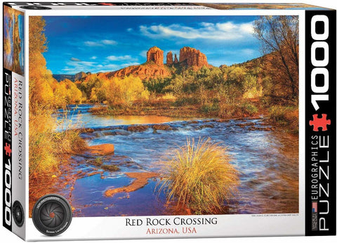 Red Rock Crossing, AZ Puzzle (1000 pcs)