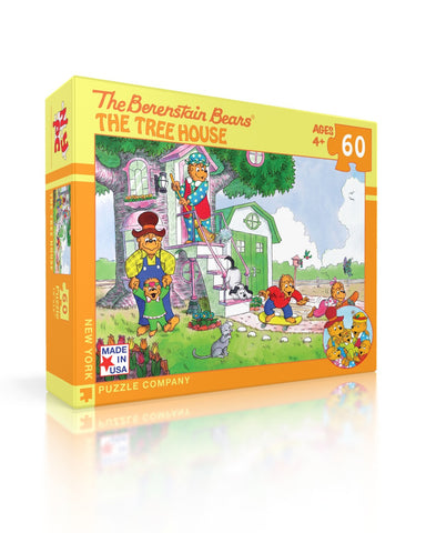 NYPC - The Berenstain Bears: The Treehouse Puzzle (60 pcs)