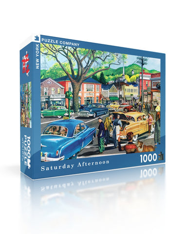 NYPC - Sunday Afternoon in Central Park Puzzle (1000 pcs)