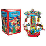 Rocket Ride Tin Carousel - Finnegan's Toys & Gifts - 1