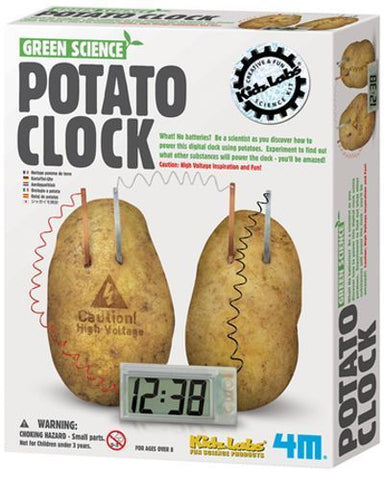 Potato Clock - Finnegan's Toys & Gifts