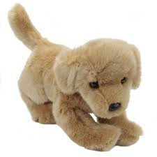 "Douglas Sandi Golden Retriever 12"" Plush - Finnegan's Toys & Gifts"