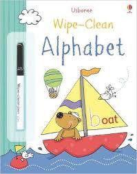 Usborne Wipe-Clean Alphabet - Finnegan's Toys & Gifts