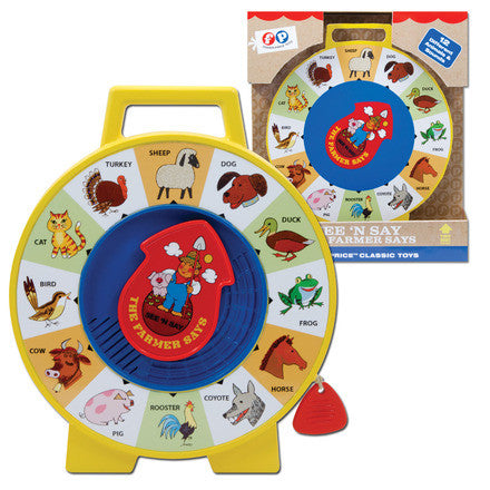Fisher Price See N Say - Finnegan's Toys & Gifts