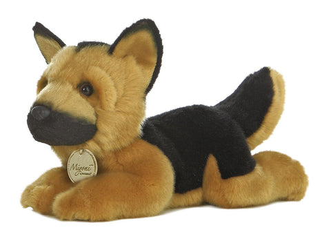 Miyoni German Shepherd 11'' Plush -- Aurora - Finnegan's Toys & Gifts