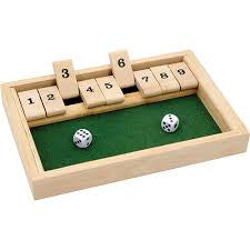 Shut The Box Game - Finnegan's Toys & Gifts