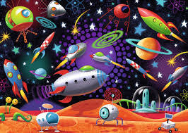 Space 35 piece Puzzle - Finnegan's Toys & Gifts