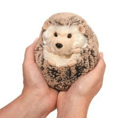 "Douglas Spunky Hedgehog 5"" Plush - Finnegan's Toys & Gifts"