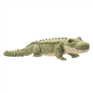 "Douglas Stream Line Alligator 15"" Plush - Finnegan's Toys & Gifts"