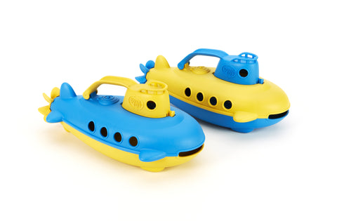 Green Toys Yellow and Blue Submarine - Finnegan's Toys & Gifts