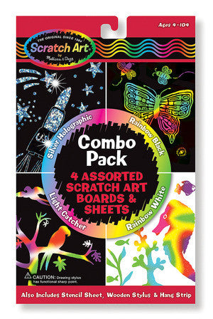 Scratch Art Combo Pack - Finnegan's Toys & Gifts