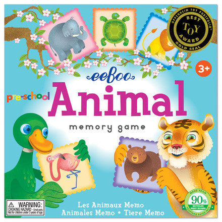 Pre-School Animal Memory Game (2ED) - Finnegan's Toys & Gifts