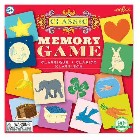 Classic Matching Memory Game - Finnegan's Toys & Gifts