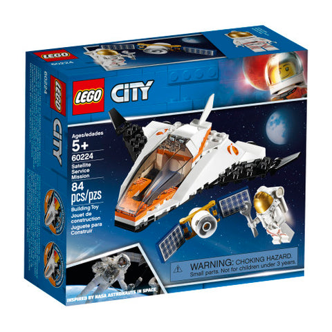 LEGO City 60224 - Satellite Service Mission
