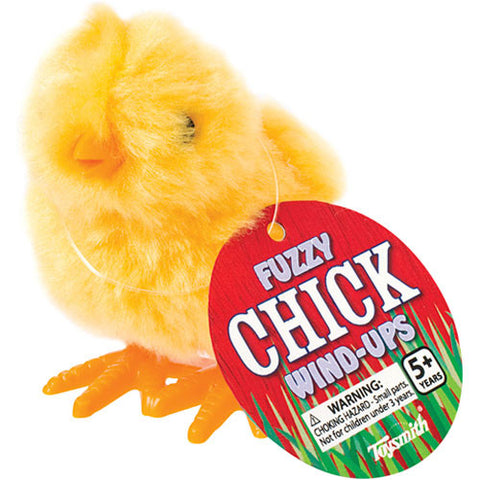 Fuzzy Chick Wind-Up - Finnegan's Toys & Gifts