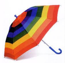 Rainbow Umbrella - Finnegan's Toys & Gifts - 1