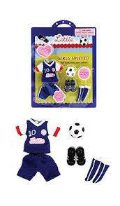 Lottie Doll Girls United Outfit - Finnegan's Toys & Gifts - 1