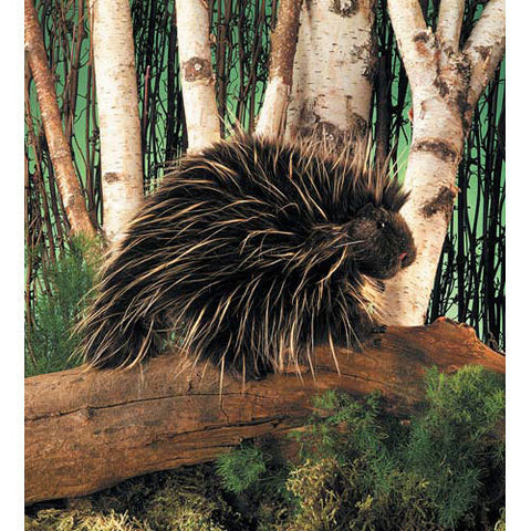 Porcupine Puppet - Finnegan's Toys & Gifts