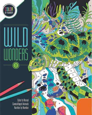 Wild Wonders Book 3 (Color By Number)
