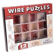 Wire Puzzles - Finnegan's Toys & Gifts