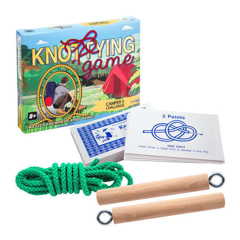 Knot Tying Game/Kit: Camper's Challenge