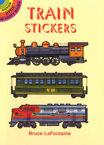 Train Stickers - Sticker Book - Finnegan's Toys & Gifts