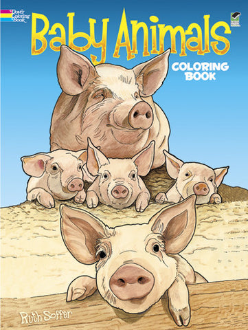 Baby Animals - Coloring Book - Finnegan's Toys & Gifts