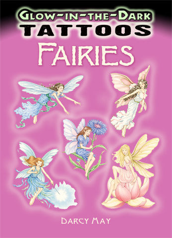 Glow in the Dark Fairies Tattoos - Tattoo Book - Finnegan's Toys & Gifts