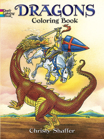 Dragons - Coloring Book - Finnegan's Toys & Gifts