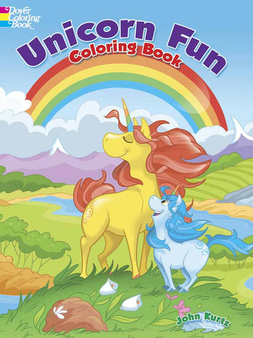 Unicorn Fun - Coloring Book - Finnegan's Toys & Gifts