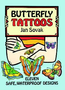 Butterfly Tattoos -- Lil' Dover - Finnegan's Toys & Gifts