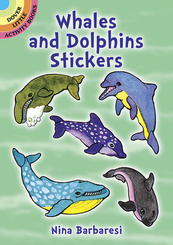 Dover Whales and Dolphins Stickers