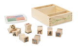Wooden Stamp Set - Baby Zoo Animals - Finnegan's Toys & Gifts - 2