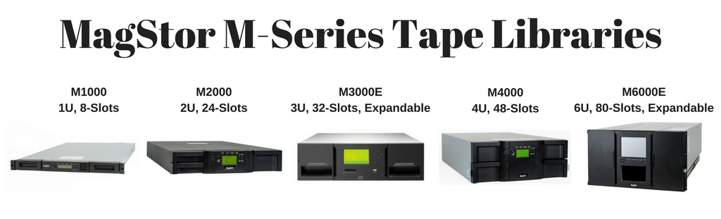 MagStor M Series Tape Libraries