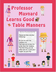 Mrs. McVeigh's Manners Books and E-Books