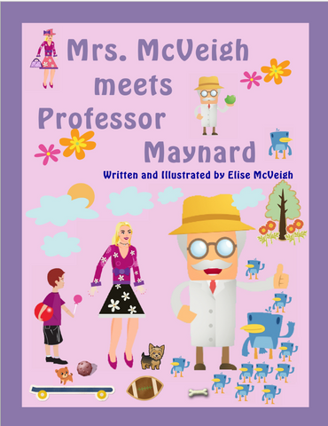 Mrs. McVeigh Meets Professor Maynard paperback book