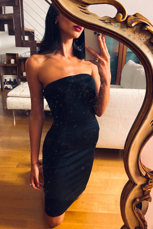 RASHA BLACK DRESS