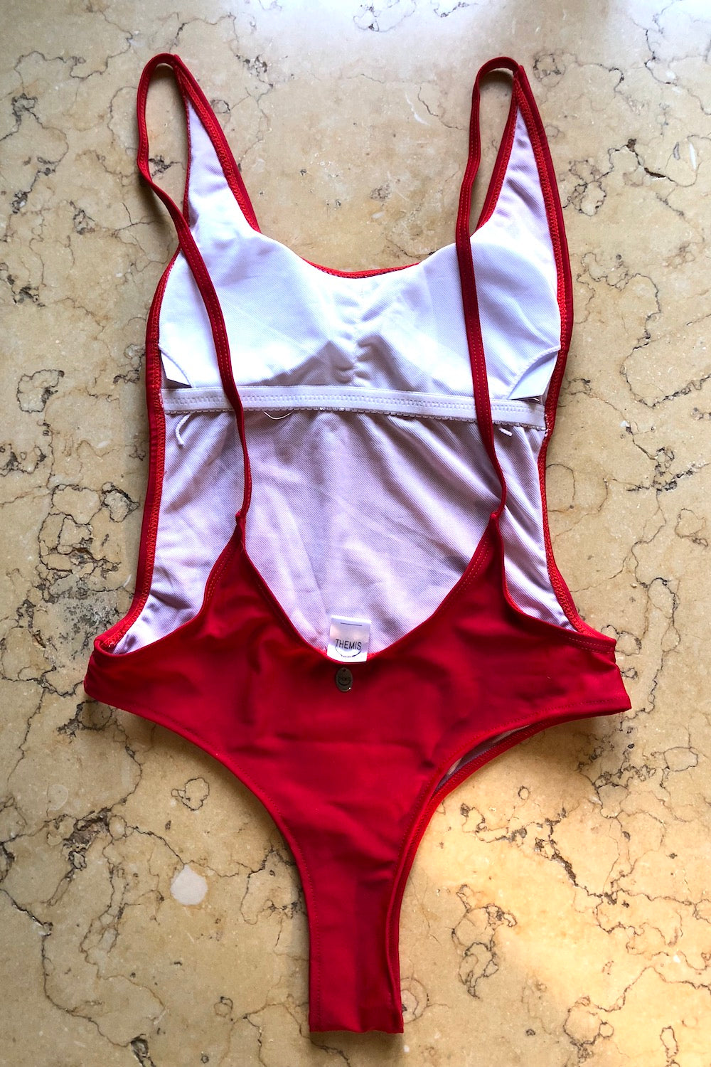 HAWAII ONEPIECE RED
